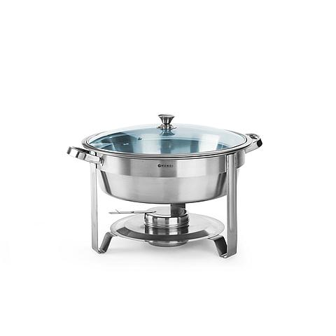 6122200282 Chafing dish rond RVS 18/0 4L Economic